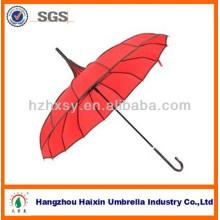 Paraguas de la publicidad de la pagoda de la boda del nuevo producto 2017