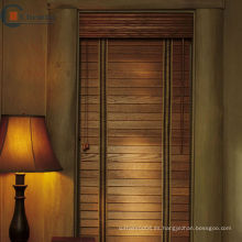 Persianas de madera falsa, persianas de madera real, persianas de basswood