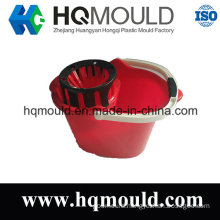 Plastic Mop Bucket with Wringer Injection Mould with ISO Certification