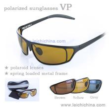 Óculos de sol de pesca de titânio polarizado chinês Vp