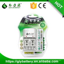 GLE alta capacidade 9V 200mAh NIMH bateria recarregável para câmera digital