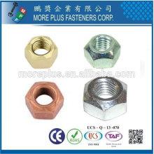 DIN 6925 ISO 7042 Sechskantmuttern MIT Metallklemmteil Type de couple prédominant Ecrou hexagonal Tous les noix de métal