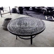 Set de muebles de mesa para sillas de ocio al aire libre de 5 piezas