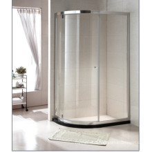 Горячее надувательство Закаленное стекло Простая душевая комната с новой поворотной дверцей (C15)