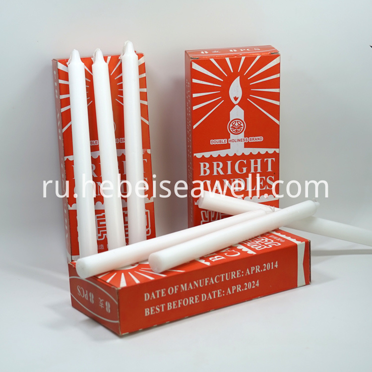 White Stick Candle 43