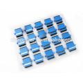 SC UPC flange type sm dx fiber optic adapter/adaptor