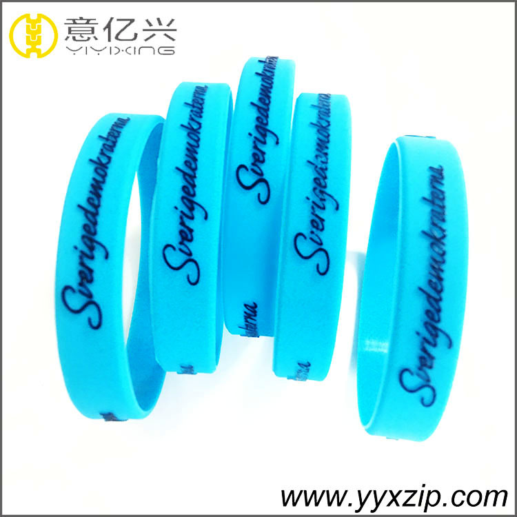 fashion silicone wrist band