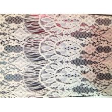 Cotton Textile Clothes Lace Fabric (6100)