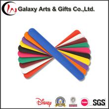 Practical Solid Color Silicone Slap Bracelet