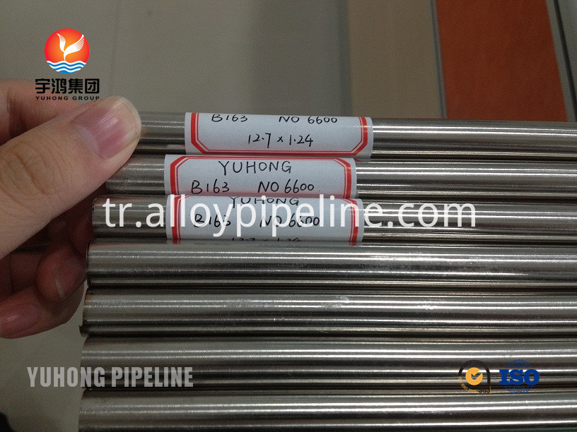 Inconel Alloy Tube UNS N06600 ASME SB163 suppiler