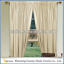 Newest Design Low price Soft window curtains design for living room