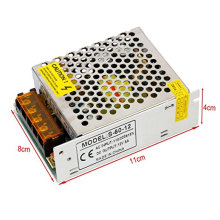 New AC110V/220V to DC12V 5A 60W Switch Power Supply Driver for LED strip Light