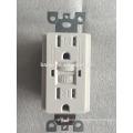 Toma de corriente de pared del circuito de seguridad GFCI 15A 125V