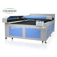 machine de découpe laser métallique et non métallique de 8 pieds sur 4 pieds / machine de découpe et de découpe laser