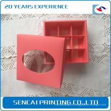 Caja de papel de embalaje popular Sencai Cake