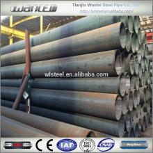 Tubo de acero al carbono Q235B erw