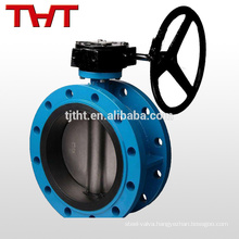 dn25mm cast iron flange ended butterfly valve