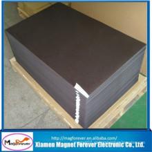 Hoja magnética de goma flexible imprimible del PVC suave / hoja auto adhesiva del imán