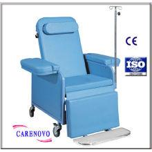 Metal Aluminum Rollator , Adjustable Chairs Elderly Ed-01