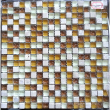 Glass Tile, Stone Mix Crystal Glass Mosaic (HGM357)