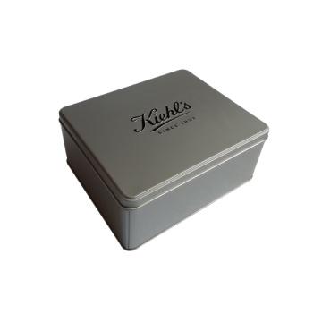 Korea Metall Kosmetik Zinn Box Parfüm Verpackung Zinn Container Förderung