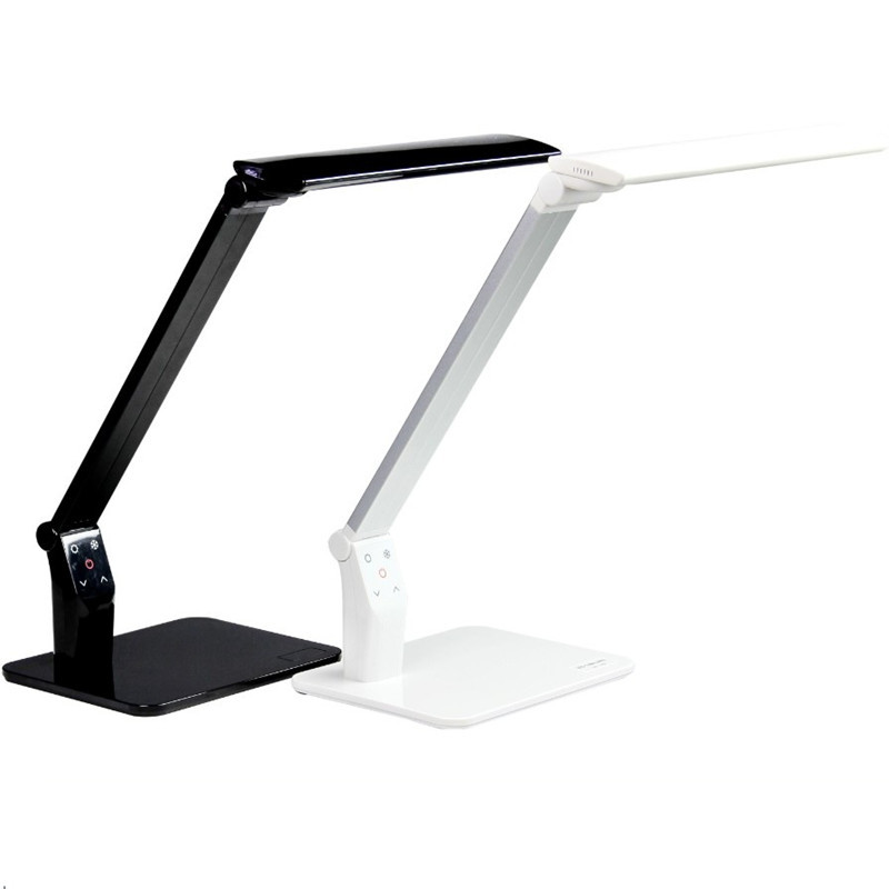Lampe de bureau menée se pliante de Dimmer de contact de port de CCT USB, lampe de table