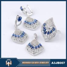 china wholesale 925 silver costume jewelry set