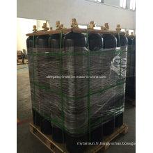 Système de cylindre d'extinction d'incendie à gaz azote 80L