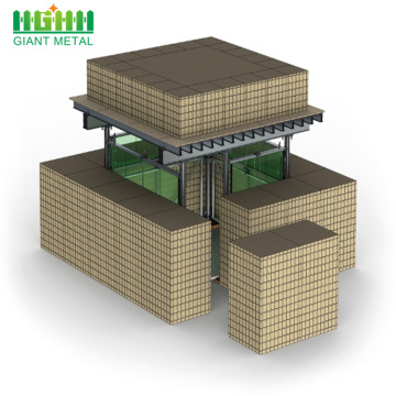 سعر المصنع Mil 1 Hesco Basket Hesco Bastion