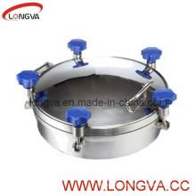 Couvercle de retenue de pression en acier inoxydable