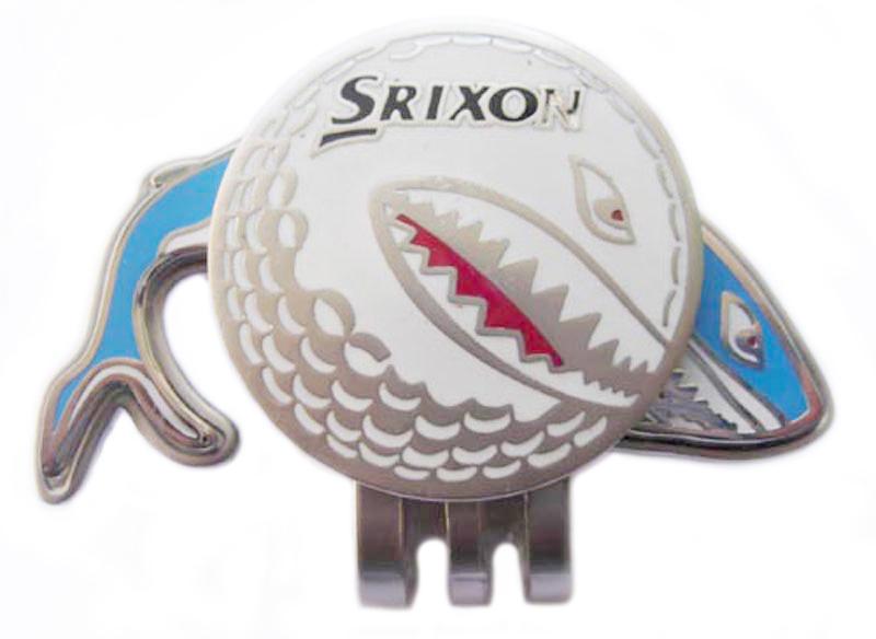 brass golf hat clip