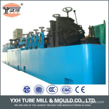 Global quality stainless steel food pipe making machine for round square rectangle tube making Turkey