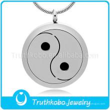 Yin-Yang collar colgante con tema hecho en China collar difusor al por mayor aceite esencial que difunde el colgante