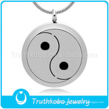 Yin-Yang theme pendant necklace made in China wholesale diffuser necklace essential oil diffusing pendant