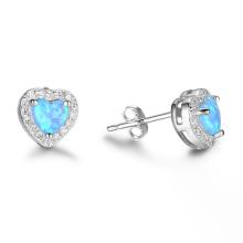 Hot Sale Opal Earring Popular jewelry Opal Stone Earrings
