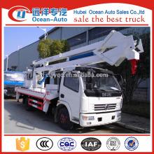 Precio del dongfeng 12-18m alto del coche aéreo de la plataforma del trabajo (altura de trabajo máxima 18 m)