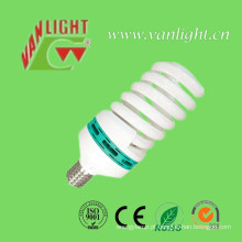 T6-85W espiral completa CFL lâmpada, lâmpada de poupança de energia