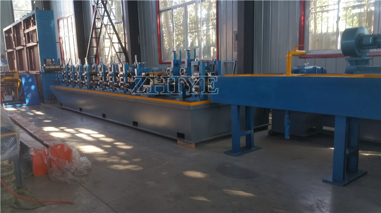 steel square welding pipe making machine