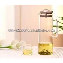 Jarro isolado Handblown da infusão do fruto do jarro da água do vidro de borosilicato do Pyrex