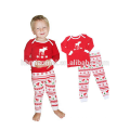Fabricantes de ropa Niños Ropa Pijamas de Navidad a rayas