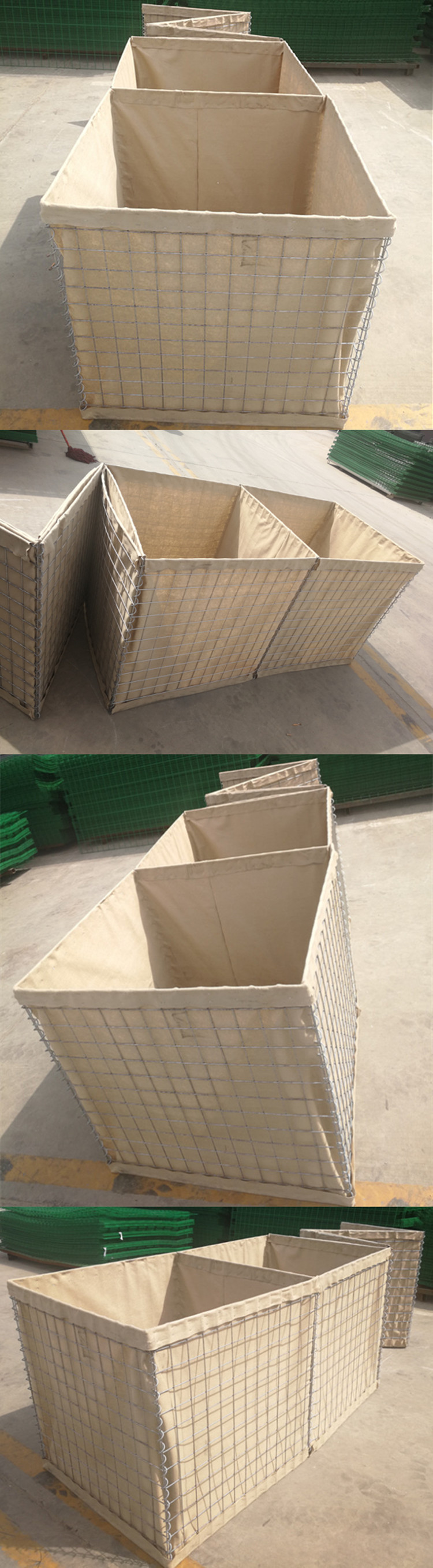 hesco defensive barriers