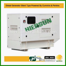 Powered by Cummins 64kw small quiet generator