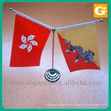 Support de drapeau de table / drapeau personnalisé