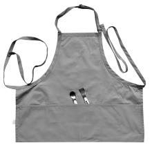 Avental da criança caçoa o avental da pintura