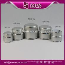 Pot unique à la forme ronde, beautiul et emballage coloré, pot de cristal cosmétique