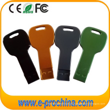 Movimentação popular do flash do USB da forma da chave do presente (TD07)