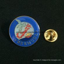 Insigne en métal bon marché adapté aux besoins du client de voiture de souvenir de service d'OEM, insignes d'insigne, insigne imprimé