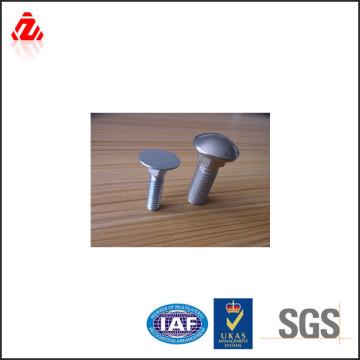 Parafuso de transporte de cabeça plana de aço carbono M16 DIN 603