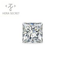 ForeverFlame  G H Princess 5ct Cut VVS1 diamond CVD CZ Moissanite chic  DE diamonds