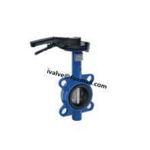 Wafer Type Resilient Seat Butterfly Valve